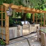 Ljetne kuhinje za kuvanje na svježem vazduhu