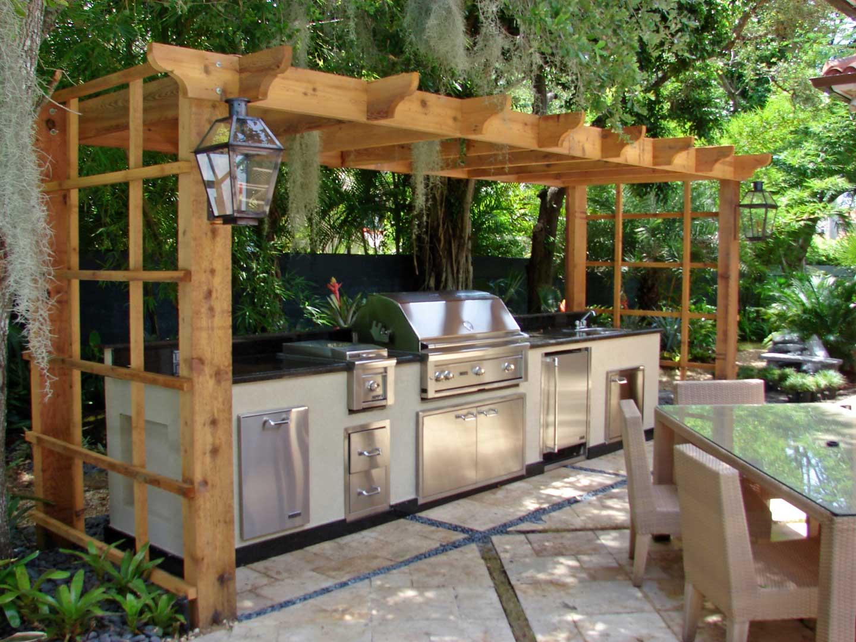 Ljetne kuhinje za kuvanje na svje em vazduhu dom info for Outdoor summer kitchen grills