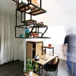 Inovativno stepenište služi i kao radni prostor