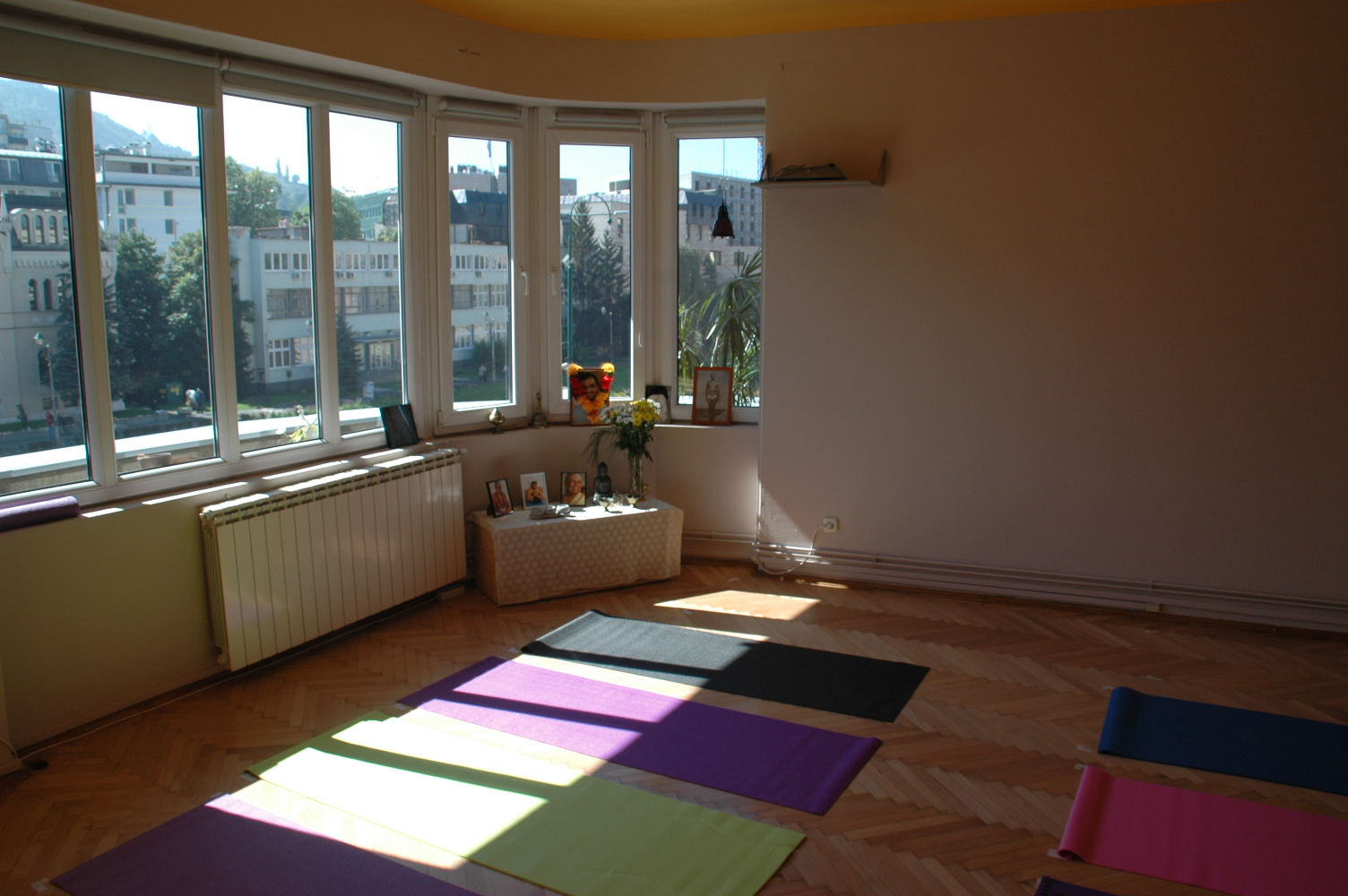idealan prostor za jogu