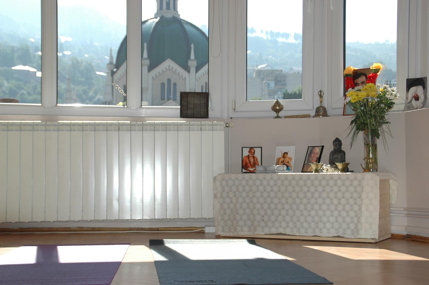 uredjenje prostora za jogu