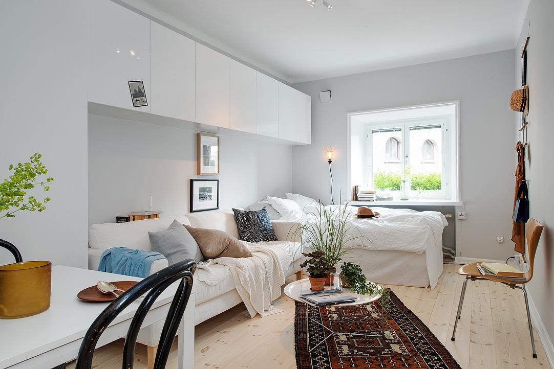 Ideje kojim ćete mali stan učiniti prostranim i udobnim  DOM INFO
