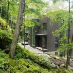 Bajkovita planinska kuća u Kvebeku