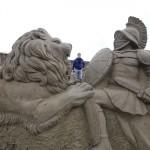 Fascinantne pješčane skulpture na festivalu u Antaliji