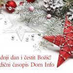 Sretan Badnji dan i čestit Božić