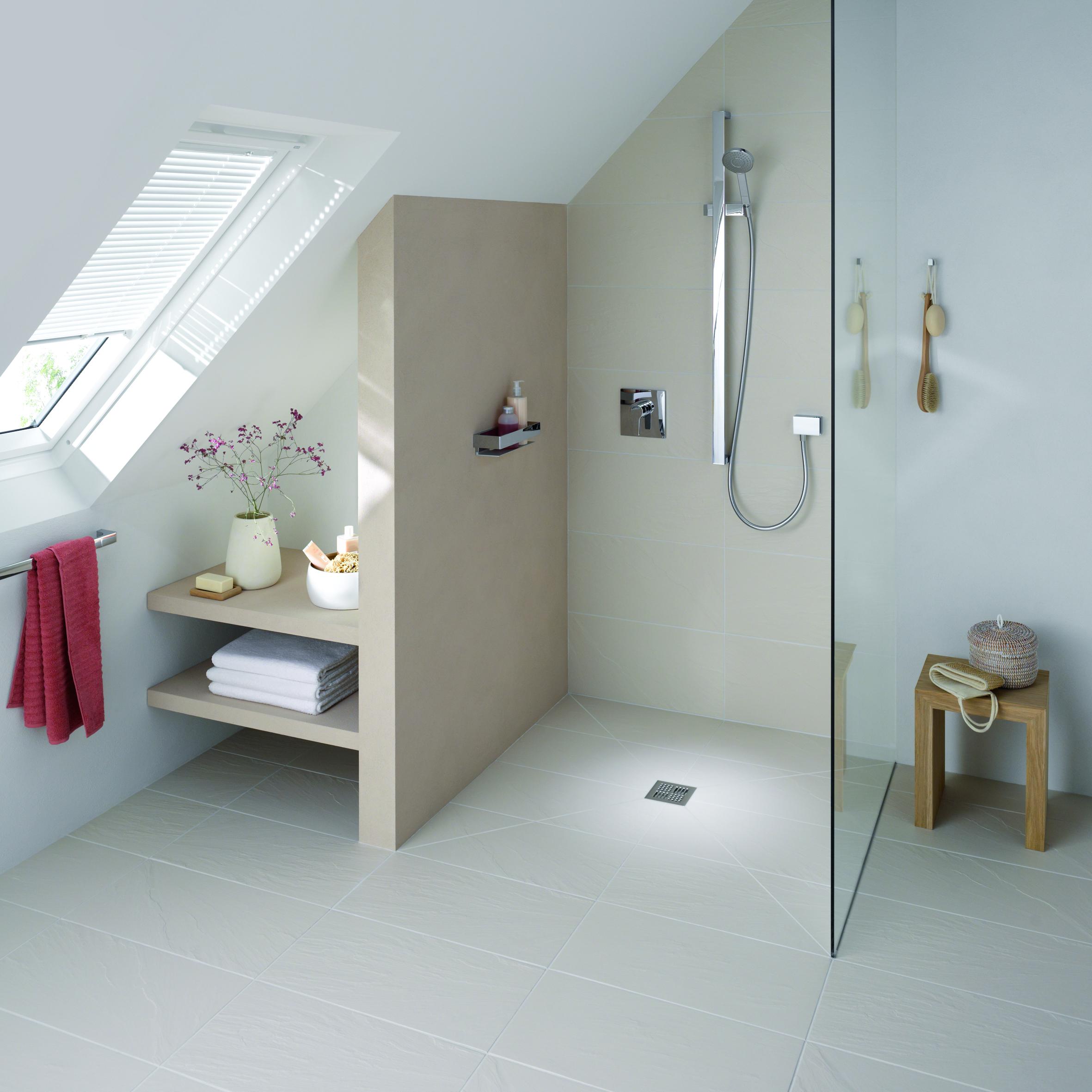 uređenje kupatila tuš u ravni poda – dom info