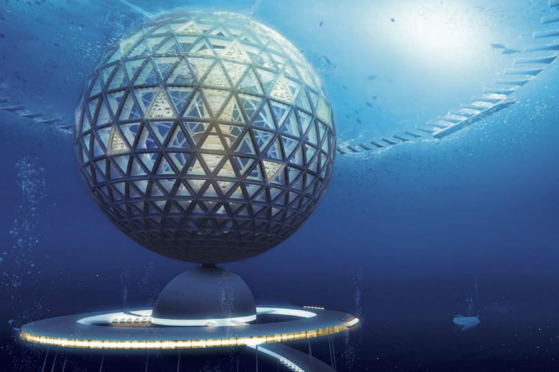 podvodni plutajuci grad
