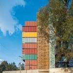 Zgrada od naslaganih kontejnera