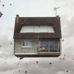 """Leteće kuće"" u projektu fotografa Laurenta Chéhèrea"