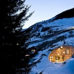 Vila ugrađena u planinu