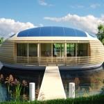 Plutajuća kuća idealna za odmor i uživanje