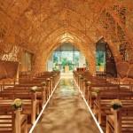 Japanska kapela za vjenčanje obložena ručno rađenim filigranom