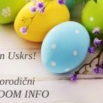 Srećan i blagoslovljen Uskrs