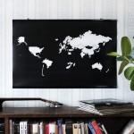 Interaktivna mapa za ljubitelje putovanja