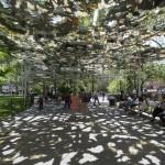 Umjetnička instalacija poput fatamorgane usred Njujorka