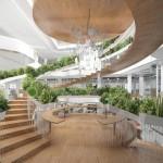 Genijalno dizajnirano spiralno stepenište