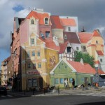 Fascinantni 3D mural istorijske tržnice u Poljskoj