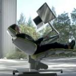 Futuristička stolica uz koju će rad na kompjuteru biti pravo uživanje