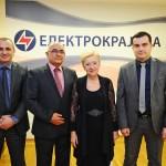 """Novogodišnje druženje """"Elektrokrajine""""  sa poslovnim partnerima i novinarima"""