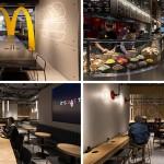 Sofisticirani enterijer McDonald's restorana u Hong Kongu