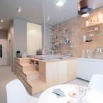 Mali stan dizajniran za putnike