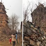 Od kamena, drveta i zemlje napravio sedmospratnu kuću