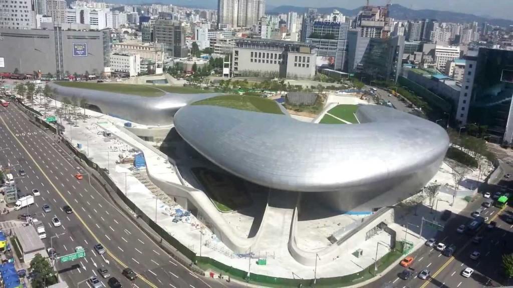 Dongdaemun Design Plaza, Seoul, Južna Koreja