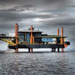 Za istraživače morskih dubina: Naftna platforma pretvorena u hotelski smještaj