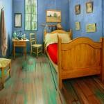 """Rekreirana poznata slika: Prespavajte u """"Spavaćoj sobi"""" Vincenta van Gogha za deset dolara"""