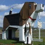 Neobična kuća u obliku psa