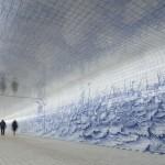 Holandski dizajn: Tunel uljepšan sa 80.000 keramičkih pločica