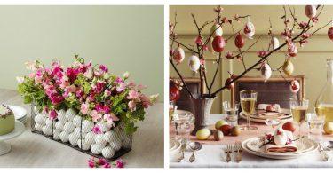 dekoracije stola za uskrs