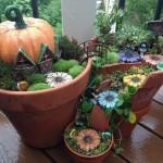 Napravite prelijepe mini vrtove od slomljenih saksija
