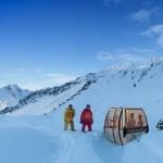 Skijaške gondole pretvorene u fascinantne saune