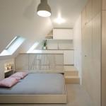 Stambeni prostor od samo 15 kvadrata: Moderna pariska garsonjera u potkrovlju
