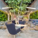 Restoran zdrave hrane: Enterijer čiji dizajn slavi ljepotu prirode