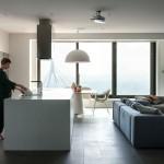 Prostrani stan sa pogledom na Dnjepar
