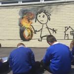 Banksy naslikao novi mural na zidu osnovne škole u Bristolu
