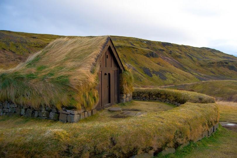 Thjorsardalur, Island