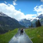 Da li biste se usudili spustiti niz Alpe na ovom toboganu?