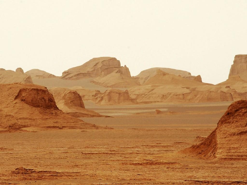 lut pustinja
