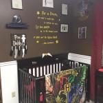 Soba za bebu u stilu Harryja Pottera