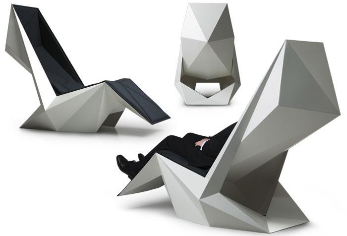 origami stolica