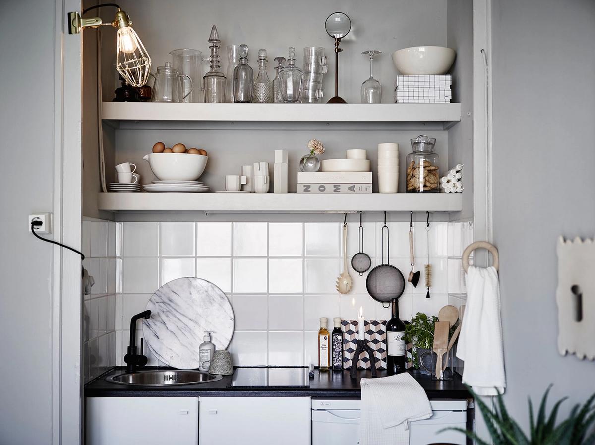 Kuhinje: Mala kvadratura, veliki stil  DOM INFO