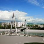"""Umjesto """"Duge"""" uništene u poplavama: Ovako će izgledati novi most u Zavidovićima"""