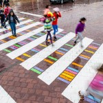 Zabavni i šareni pješački prelazi krase ulice Madrida