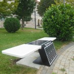 U Posušju postavljena prva solarna klupa