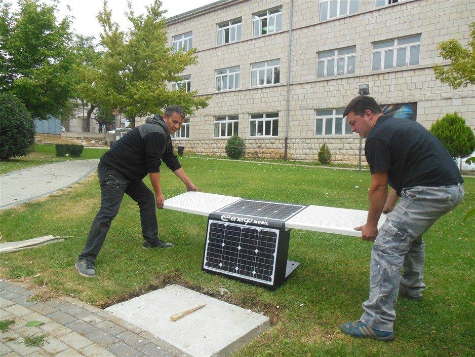 solarna klupa posusje