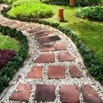 Vrtne staze: Vrste i način postavljanja