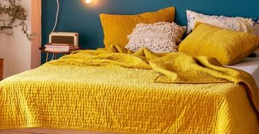 posteljina-uredjenje-zuta